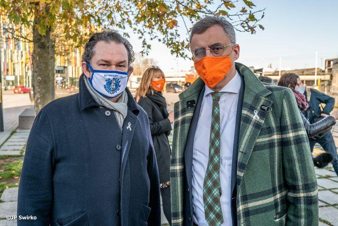 Filip Van De Winkel met Joachim Coens.