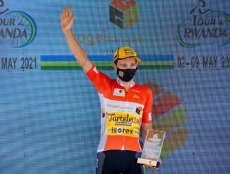 """Lennert Teugels blinkt uit in Ronde van Rwanda: """"Twee truien belonen een fantastisch avontuur"""""""