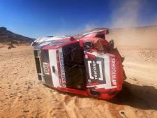 Ten Brinke uit Dakar Rally na flinke crash, Al-Attiyah wint wéér