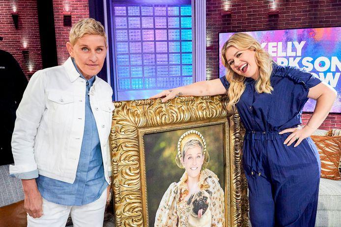 Ellen Degeneres en Kelly Clarkson