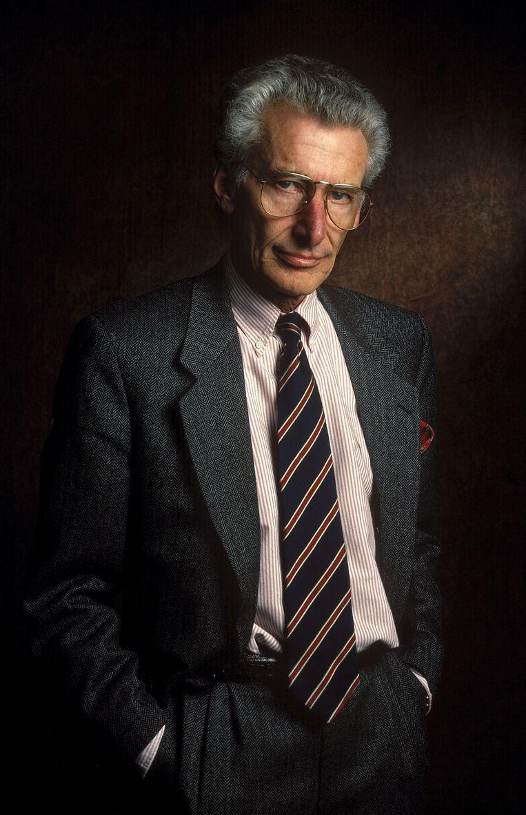 De tiende sterfdag van Harry Mulisch is aanleiding voor de uitgave van onder meer een brievenboek.  Beeld Ulf Andersen