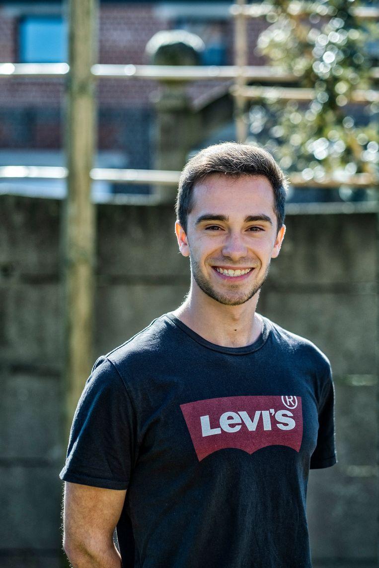 Levi Uzeel: 'Ik wil niet graag een jaar verliezen door deze crisis.' Beeld Tim Dirven