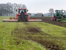 Amper nog oranje velden nu boeren veel minder glyfosaat spuiten