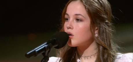Net geen eindwinst, maar The Voice Kids levert Faela uit Heerle haar eerste hit op