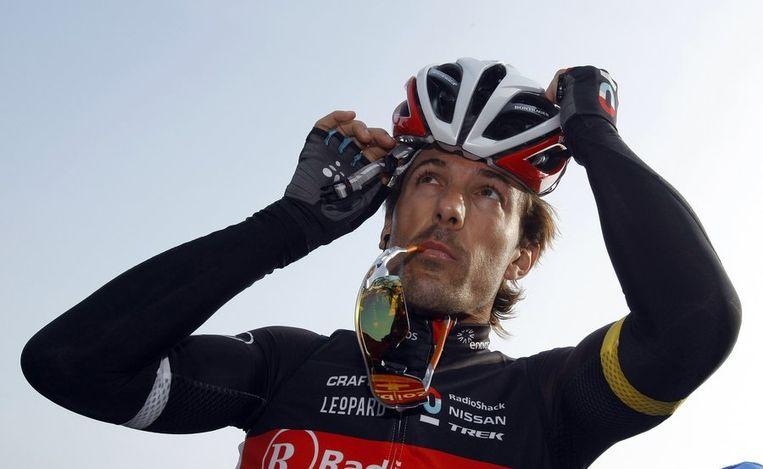 Cancellara werd net als vorig jaar tweede. Beeld REUTERS