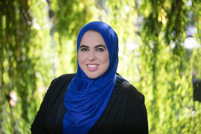 Wethouder Nadya Aboyaakoub-Akkouh van de gemeente Nijkerk stopt.