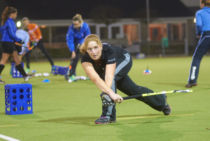 Hockeyster Annenienke van der Ven van HC Boekel.