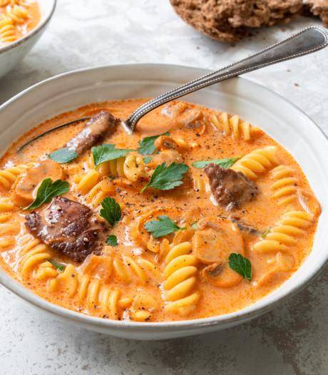 Wat Eten We Vandaag: Stroganoff-soep
