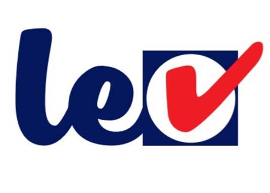Het logo van LEV, voorheen Groep Bloemsma.