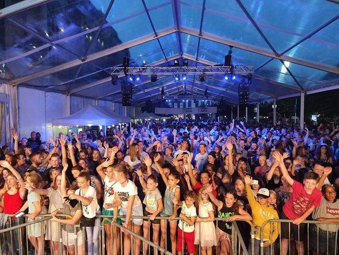 Het Pleinfeest in Doesburg.