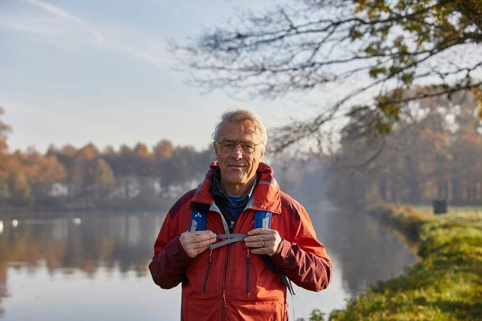 Dolf Logemann is trots op het Berkelpad, de door hem bedachte wandelroute over 165 kilometer. ,,De route heeft een rijke geschiedenis die bij veel mensen nog niet zo bekend is.''