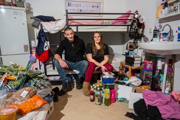Eric en Tjardina wonen met hun kinderen in De Opstap maar snakken naar een eigen huurhuis.