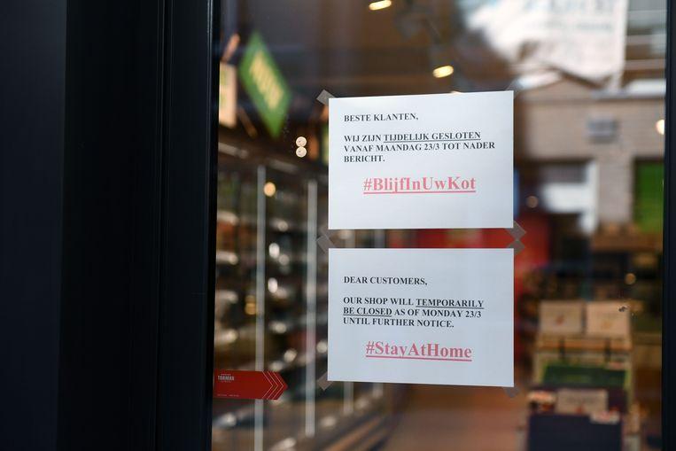 Delhaize Fresh Atelier in de Diestsestraat in Leuven is voorlopig gesloten.