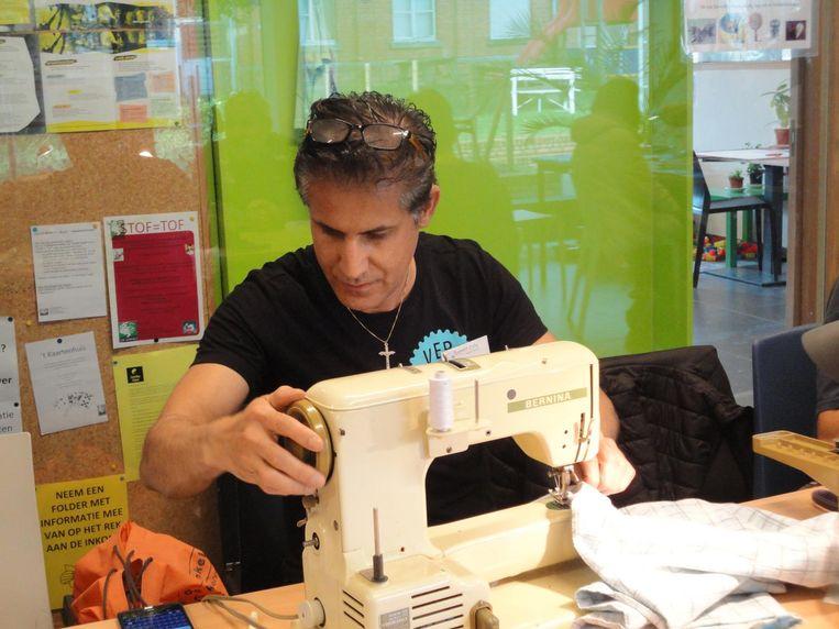 Textiel is één van de meest binnengebrachte zaken in het Repair Café.