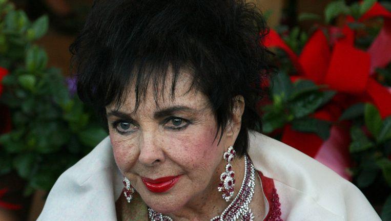 Elisabeth Taylor in 2007 Beeld