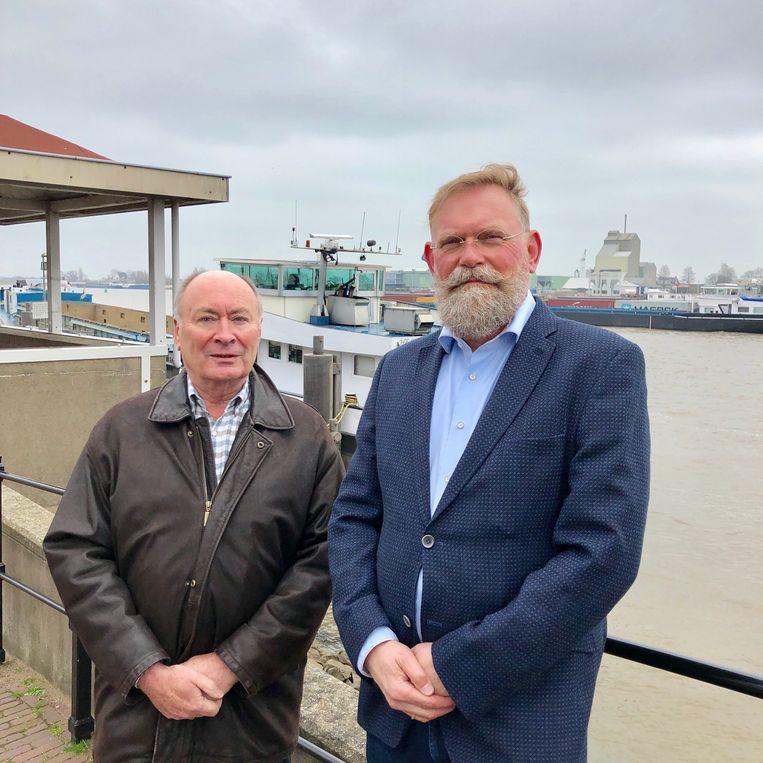 Jan Mudde (links) en Peter Breedveld Beeld Toine Heijmans
