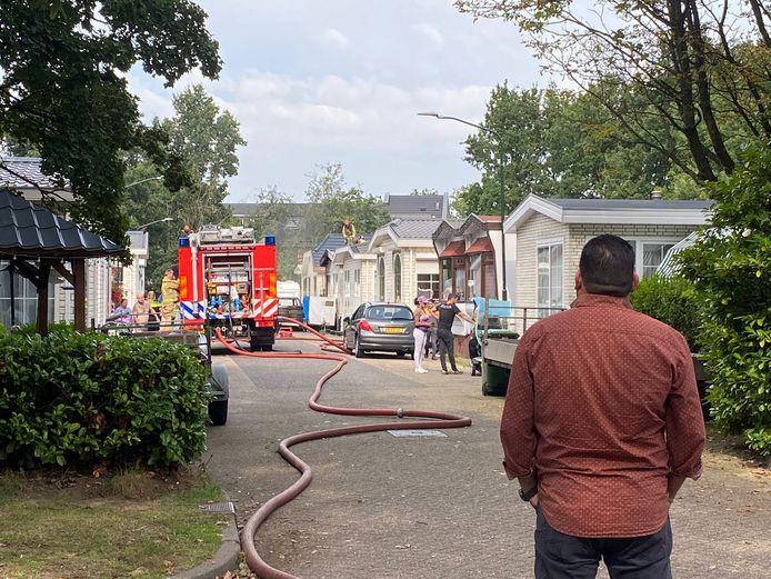 Brand in Son en Breugel.