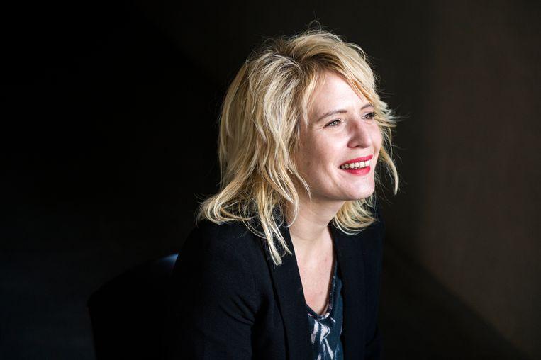 Film- en theatermaakster Nathalie Teirlinck.  Beeld RV FRED DEBROCK