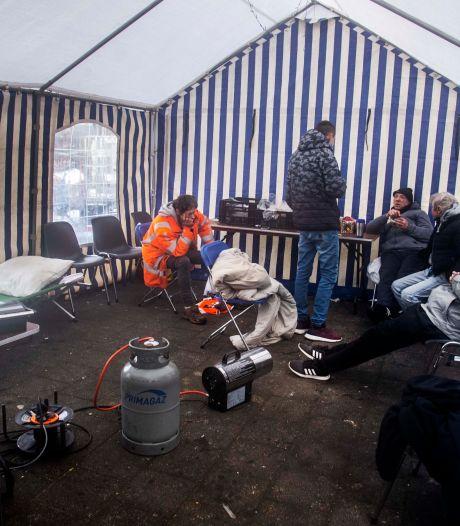 Tilburg vangt dakloze arbeidsmigranten op in tent