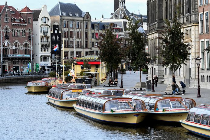 Bateau de touristes à Amsterdam (archives).