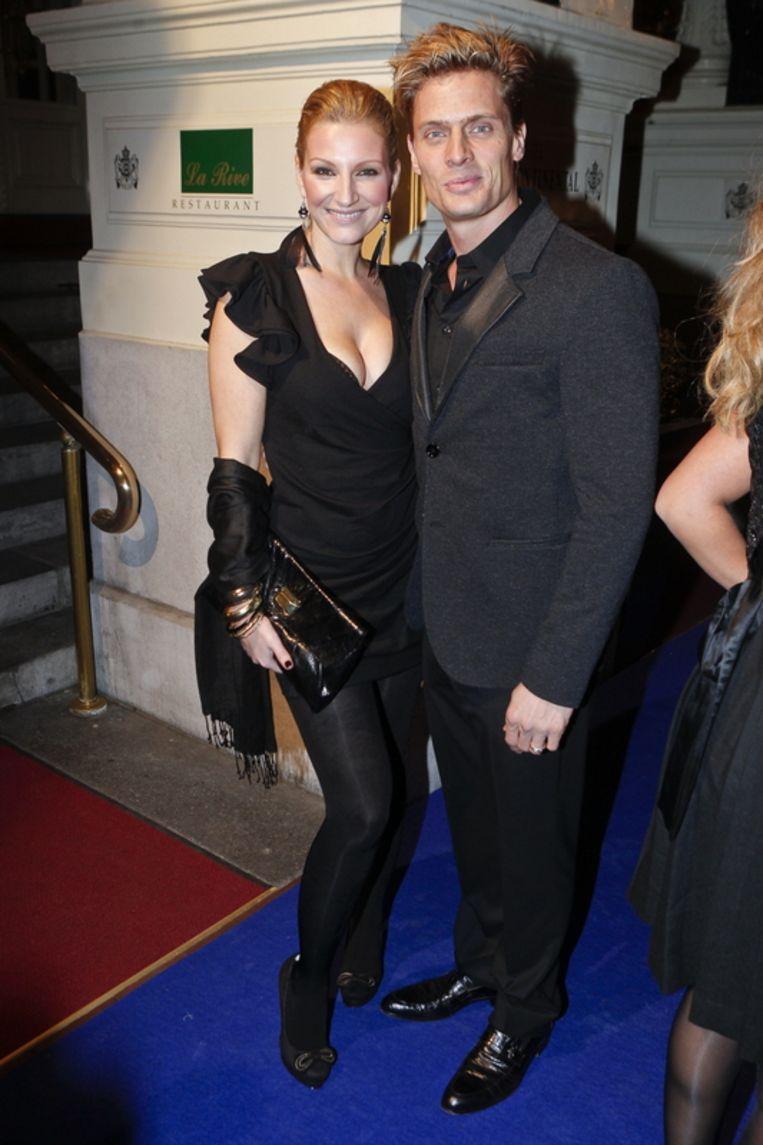 Denise van Rijswijk en partner Winston Post.<br /><br /> Beeld null