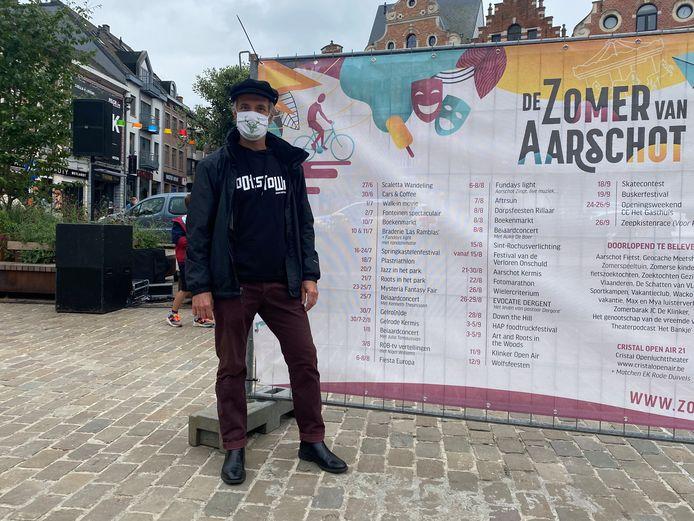 Kurt De Bont, organisator Roots In Het park.