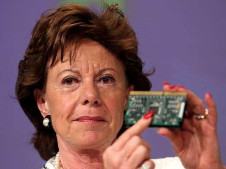 Eurocommissaris voor Concurrentie Neelie Kroes. Beeld UNKNOWN