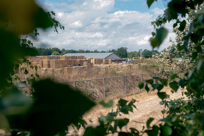Pallethandel Ten Hove ligt vlakbij beschermd Natura2000 gebied.