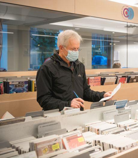 Lekker struinen langs bakken met cd's? Dat is er in de Wageningse bibliotheek niet meer bij