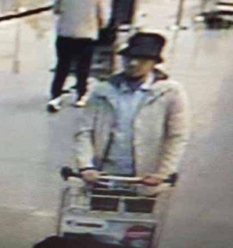 Abrini is de enige terrorist die het bloedbad op Brussels Airport overleefde. Beeld Kos
