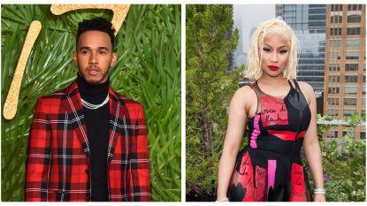 Zijn Lewis Hamilton en Nicki Minaj een koppel?