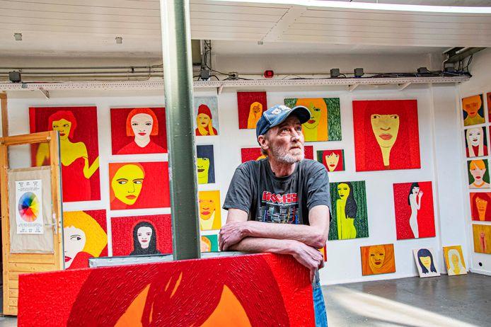 De 66-jarige Ad Fijneman is een autodidact, de kunstenaar in hem is laat ontwaakt.