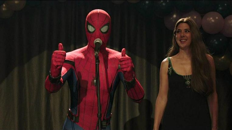Spider man: Far From Home Beeld web