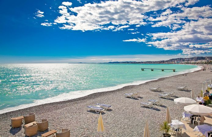 De Côte d'Azur in Nice.