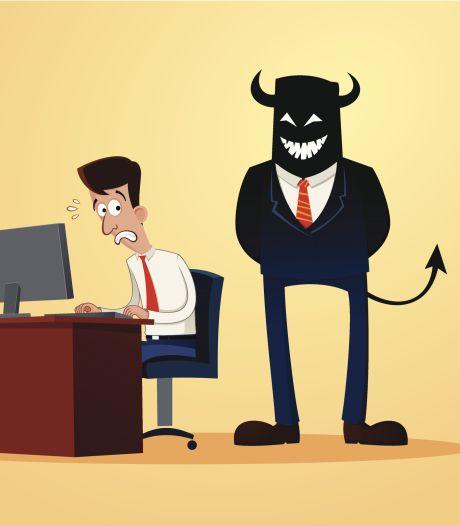 Heb je een heel slechte baas? Zo blijf je zelf professioneel