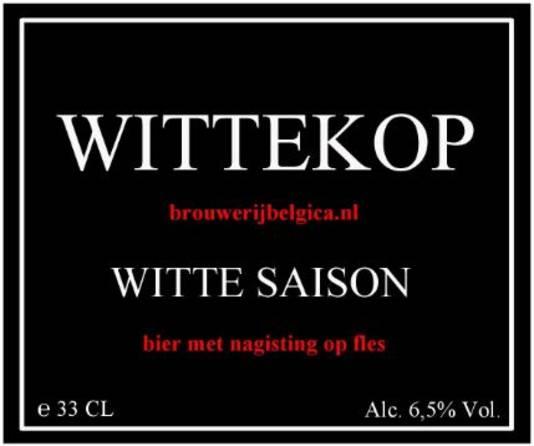 Brabants Lekkerste Bier 2017: Wittekop van Belgica uit Made.