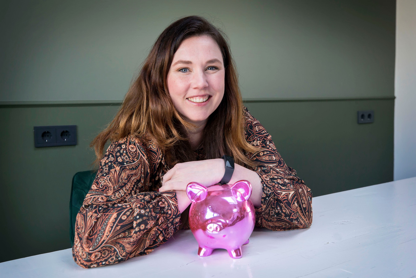 Roëlla Vermeiren: 'Het eerste wat ik wil, is de hypotheek aflossen'.