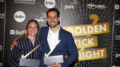 Florent van Aubel en Alix Gerniers zijn beste hockeyers van seizoen 2017-2018