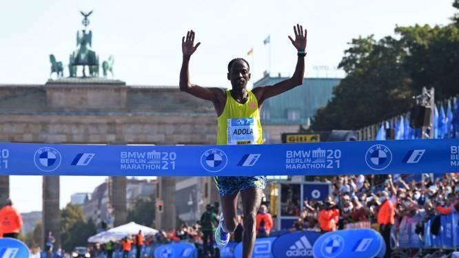 Guye Adola blijft in Berlijn ver af van wereldrecord marathon