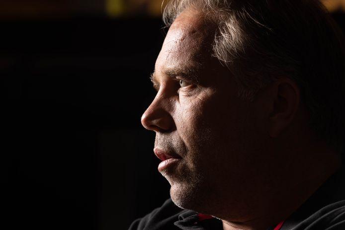 """Art Langeler, dit seizoen weer trainer van PEC, was blij en trots dat zijn oude club hem opnieuw vroeg. ,,Dat is niet iedereen gegeven."""""""