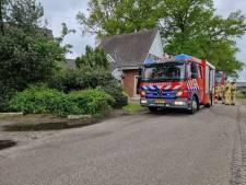 Brand in woning Hertme, geen gewonden