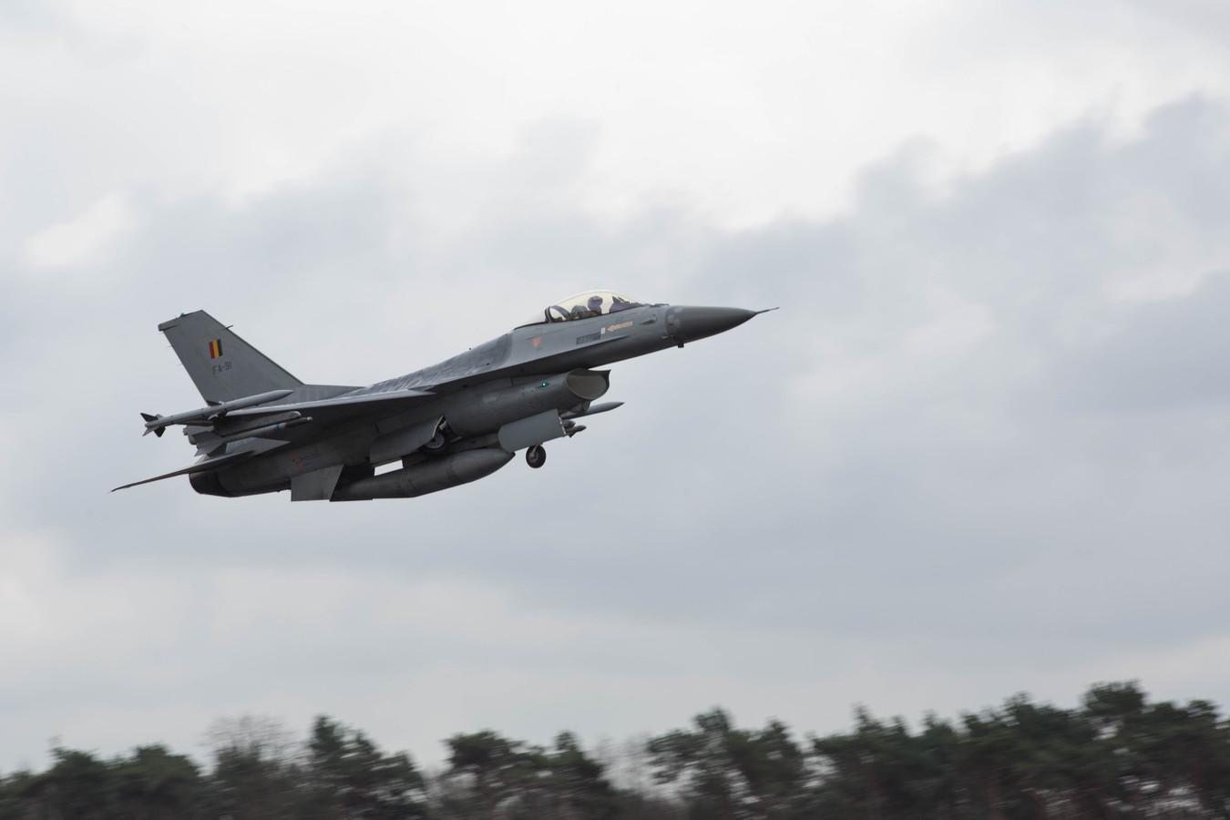 Aan de vliegbasis in Kleine-Brogel bij Peer werd een te hoge concentratie PFOS gemeten.