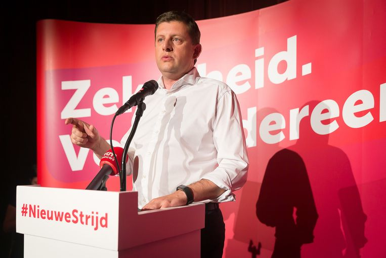John Crombez (sp.a). Beeld BELGA