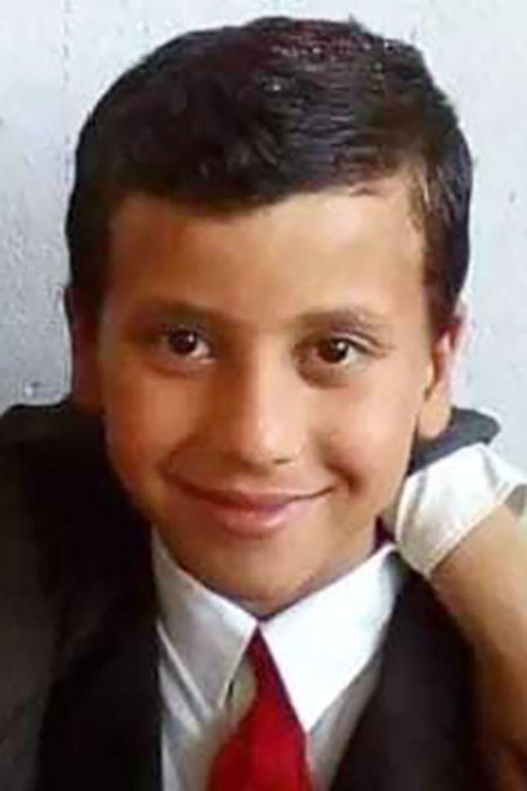 Yahya Khalifa was net even ijs en yoghurt gaan halen voor zijn familie, toen een raket insloeg Beeld NYT