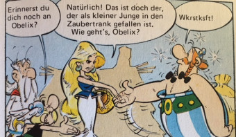 De fenomenaal getekende verliefdheid van Obelix