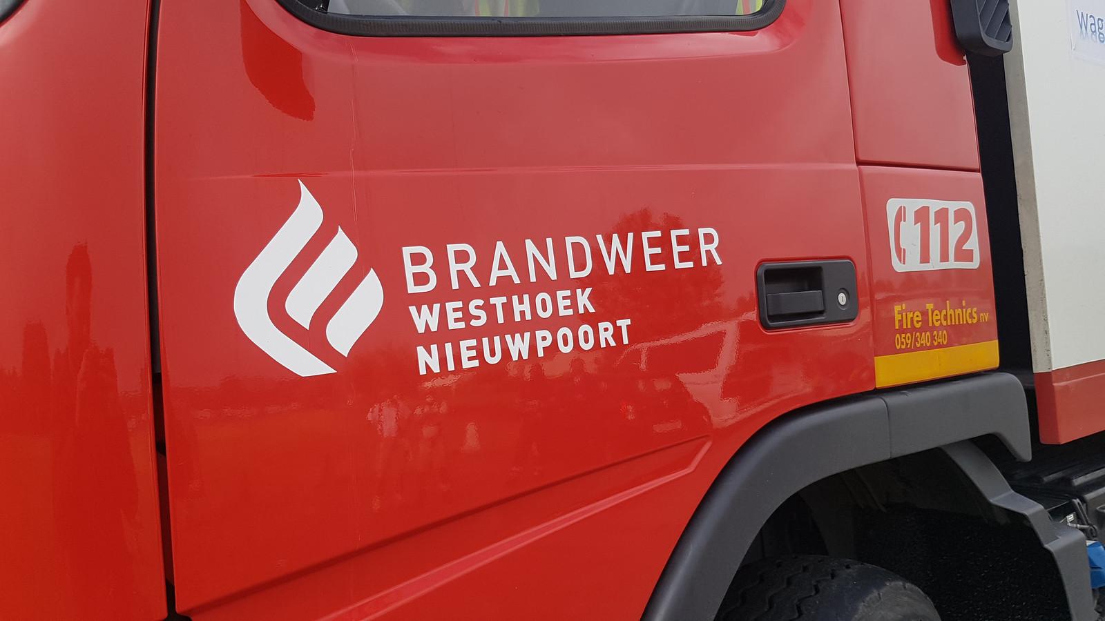 Illustratie: Brandweer Westhoek post Nieuwpoort.