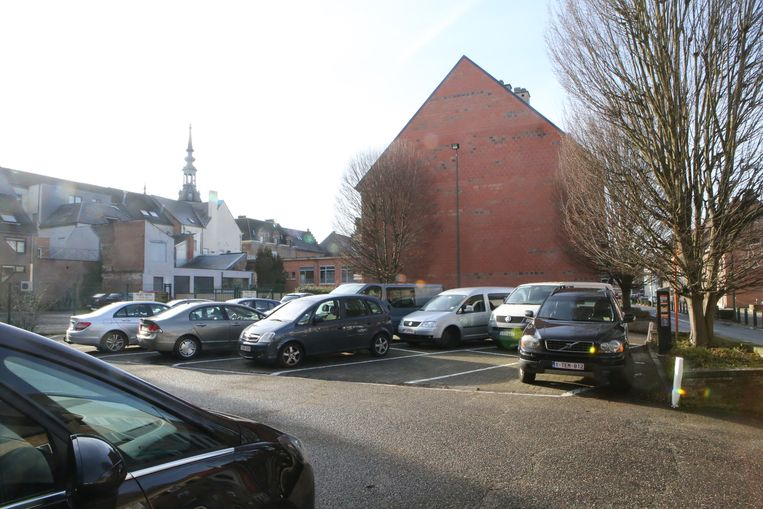 Op de site in de Michel Theysstraat is nu nog een parking.
