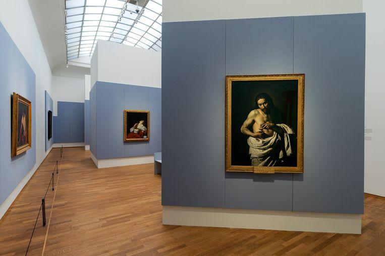 Caravaggio en Bernini in Het Rijksmuseum. Beeld Olivier Middendorp