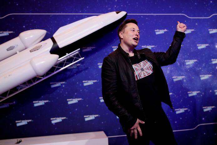 SpaceX- en Tesla-baas Elon Musk op archiefbeeld.