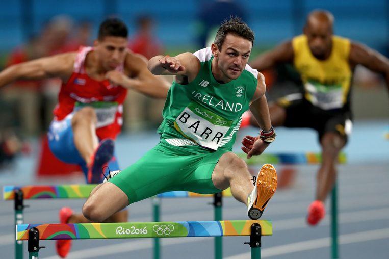 Thomas Barr verraste iedereen door zijn halve finale te winnen. Beeld Getty Images